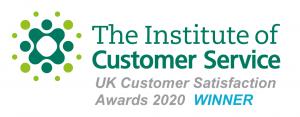 Institute of Customer Service Award Winner